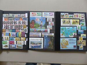 Malaysia Sammlung postfrisch 60/90er Jahre, Michel etwa 1500 Eur, alles abgebild