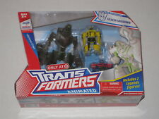 Transformers Animated Stealth Lockdown MISB New With Bumblebee + Optimus Prime