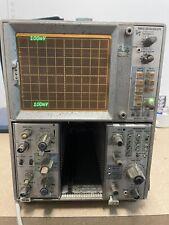 Tektronix 7603 Oscilloscope Dual Trace Amplifier 7a26 Time Base 7b70 Powers On