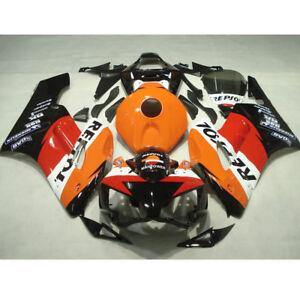 Verkleidung Lacksatz Fairing Bodywork Fit For Honda CBR1000RR 2004 2005 Orange