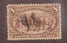 Scott 289 - 8 Cents Trans-Mississippi - Used - Nice Stamp - SCV - $47.50