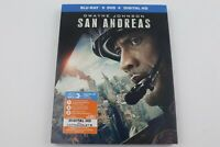 San Andreas-Blu-Ray-DVD-Dwayne Johnson- No Digital Code