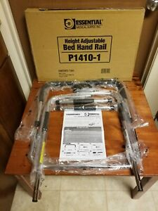 Essential Medical Supply P1410-1  Height Adjustable Bed Hand Rail - NEW