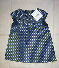 ROBE bébé fille 6 mois TISSAIA NEUVE dress 6 months baby girl new with tags