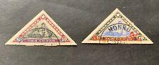Liberia 🇱🇷 1909 & 1910 - 2 canceled stamps - Michel No. 117, 118