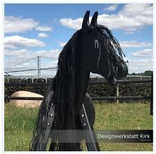 Spielpferd Holzpferd Spirit 120cm in beige Das Premium Voltigierpferd