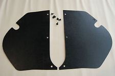 HD HR HOLDEN Kick Panels Black (pair) Inc 6 Trim Buttons  **Top Quality**