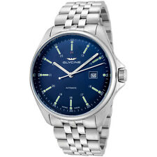Glycine Men's 3890.181.MB Combat 6 Classic Automatic 43mm Blue Dial - GL0102