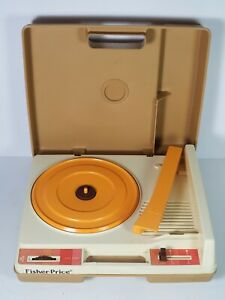 Vintage 1978 Fisher-Price Phonograph Turntable Record Player Model 825 Tested