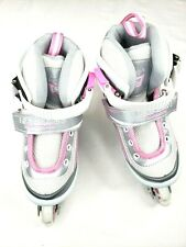 Kuxuan Inline Skates Adjustable for Kids Girls Skates With All Wheels Light S