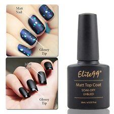 Elite99 Matte Top Coat Soak Off UV Gel Polish Nail Art Matting Surface Nail Art
