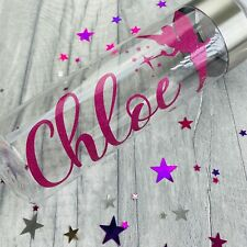 PERSONALISED TINKERBELL FAIRY WATER BOTTLE, Work or Gym Bottle Keepsake Gift