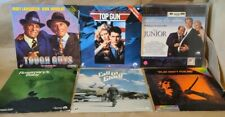 Lot of 24 LaserDisc Movies - Top Gun - Clue - Little Shop Of Horrors -Good Shape