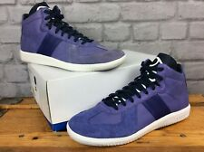 ADIDAS ORIGINALS 2010 MENS UK 8 EU 42 RESPLIT MID PURPLE VIOLET HI TOP TRAINER