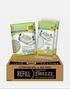 Purina Tidy Cats Cat Litter Box Accessories, BREEZE Refill Litter Pellets & Cat