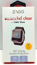 ZAGG Fitbit Blaze InvisibleShield HD Clear Screen Protector