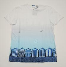 Ben Sherman S/s Beach burlaron t-shirt-mod Fit-size M-New **