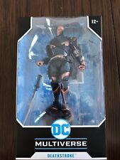 Deathstroke 7? Action Figure McFarlane DC Multiverse Batman Arkham Origins MIB