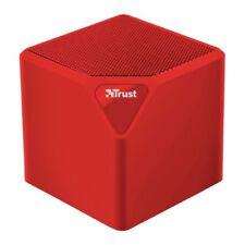 Altavoces Trust primo Inalambrico Bluetooth 3W cubo rojo