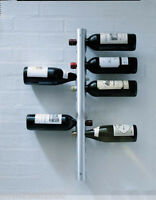 New European Fashion Creative Stainless Steel 12 Bottles Wine Rack Holder &$