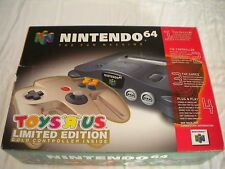 VERY RARE BRAND NEW VINTAGE SYSTEM WITH GOLD CONT NINTENDO 64 N64 ORIGINAL OWNER