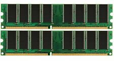 New 2GB KIT (2x1GB) PC3200 DDR400 400Mhz 184pin DIMM Desktop Memory High Density