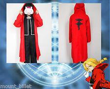 Japanese Anime FullMetal Alchemist Edward Elric Cosplay Costume Christmas!