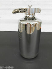 USED EAGLE STAINLESS STEEL  2 LITER BOTTLE PS-12F WITH CAP & CLAMP