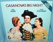 LD laserdisc BOB HOPE Casanova's Big Night J FONTAINE