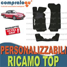 Tappetini per ALFA ROMEO Duetto Spider 83-89 in moquette fondo gomma Logo Top