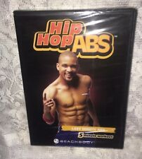 Beachbody: Hip Hop Abs Dvd. Last Minute Abs. Shaun T=New Sealed Free Ship=