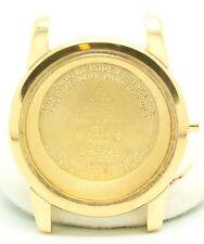 18K Solid Gold Omega Seamaster Case & Back For Parts 24.0 Grams