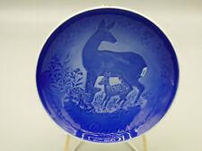 B&G Bing & Grondahl Mother's Day 1975 Collector Plate Deer & Fawn Denmark