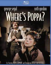 BLU-RAY Where's Poppa (Blu-Ray) NEW George Segal