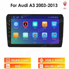 """For Audi A3 2003-2013 Android 10 9"""" 4-Core 2+32GB Car Stereo Radio GPS Wifi DSP"""