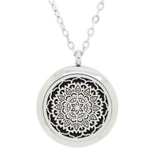 Aromatherapy (Lotus Mandala) Essential Oil Diffuser Necklace - Mothers Day Gift