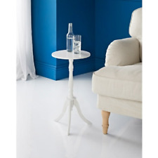 Isabelle Traditional White Round Top Side Table A Elegant Addition To Your Home
