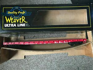 RARE WEAVER O 3 RAIL SANTA FE 50' RED FLAT CAR AT&SF