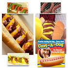 2 Curl-A-Dog Spiral Hot Dog Slicers BBQ Grilling Sausage Cooking Camping Tool