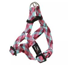 New listing 5280 Dog Pink Nylon Braided Step-In Harness Small S