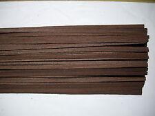 25 Holzleisten Wenge 1000 x 8 x 0,6 mm