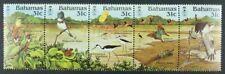 Schmetterlinge Butterflies 1984 Bahamas Vögel Birds Greifvogel 570-74 MNH / 85