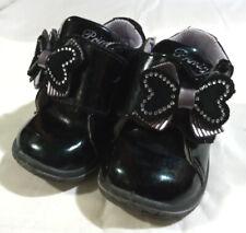 Scarpine bimba Primigi 19 scarpe neonata nere lucide eleganti fiocchetto strass
