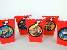 Blaze and the Monster Machines Party favors Popcorn/Candy box SET OF 10