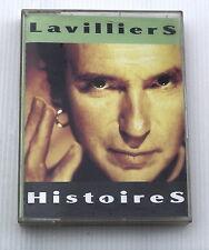 BERNARD LAVILLIERS . HISTOIRES . 2 TAPE . 2  CASSETTE AUDIO . 2 K7