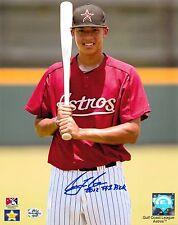 Carlos Correa Autograph 8x10 Photo w/ Inscription Signed Houston Astros