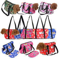 Colorful Portable Pet Puppy Dog Cat Carrier Backpack Front Net Bag Tote Carrier
