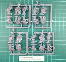Warhammer AOS esclaves de ténèbres chaos warriors Casque têtes x 6 L3 F
