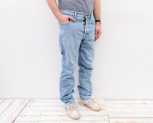 "LEE Gold Star USA vintage 60s Sanforized Denim Jeans 38"" x 33"" Stonewashed Pants"