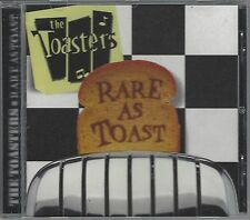 THE TOASTERS - RARE AS TOAST - (brand new still sealed cd) - MOON CD 072